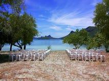 Siedzenie na plaży w Tajlandia Fotografia Royalty Free