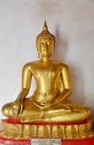 Siedzi Buddha wizerunek Zdjęcie Royalty Free