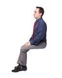 Siedzi mężczyzna Obrazy Stock