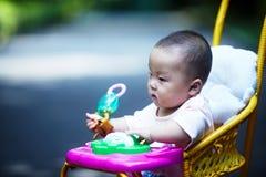 siedział stroller dziecko Zdjęcia Stock