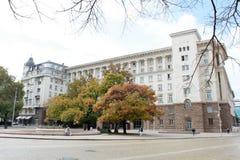 Siedziba prezydent Bułgaria Zdjęcie Royalty Free