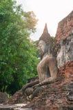 Siedzieć Buddha rzeźbę obraz stock