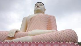 Siedzieć Buddha statuę, Kande Viharaya świątynia w Aluthgama, Sri Lanka zbiory