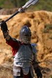 Sieg des Ritters Stockbild