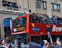 Sieg-Parade New- YorkGiants lizenzfreies stockbild