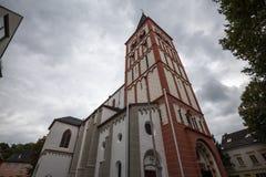 Siegburg Германия церков St Servatius стоковые фотографии rf