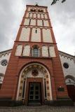 Siegburg Germania della chiesa della st Servatius Fotografie Stock