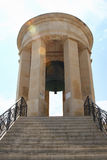 Siege bell memorial in Valletta, Malta. Stock Photography