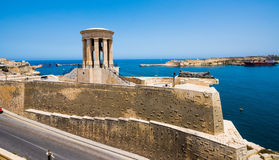 Siege Bell Memorial in Valletta Stock Images