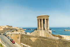Siege Bell Memorial in Valletta Royalty Free Stock Images
