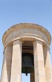 Siege Bell War Memorial in Malta royalty free stock image