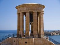 Siege Bell War Memorial, Valletta Royalty Free Stock Images