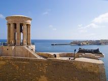 Siege Bell War Memorial, Valletta, Malta Stock Image