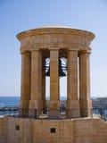 Siege Bell War Memorial, Valletta, Malta Stock Images