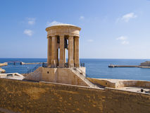Siege Bell War Memorial, Valletta, Malta Stock Images
