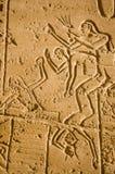 Siege il combattimento, Kadesh. Ramesseum Fotografia Stock Libera da Diritti