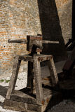Siege machine catapult royalty free stock images