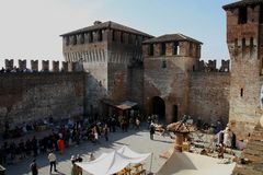 Free Siege Of The Rocca, In Soncino - Lombardy - Italy - 6th And 7th October 2018 Royalty Free Stock Photography - 128283907
