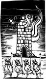 siege viking Arkivbild