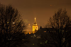 Siegen city germany at night Royalty Free Stock Photography
