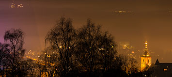 Siegen city germany at night Stock Photos