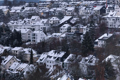 Siegen city germany in the winter Royalty Free Stock Photos
