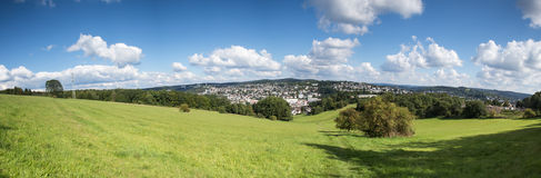 Siegen city panorama germany Royalty Free Stock Photography