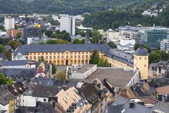 Siegen germany from above Royalty Free Stock Photography