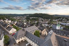 Siegen germany from above Royalty Free Stock Photo