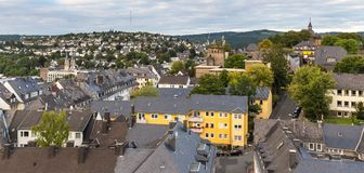 Siegen germany from above Stock Photos