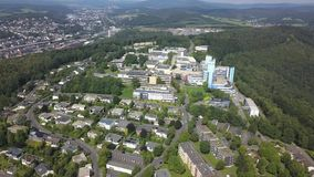 University of Siegen, Germany stock footage