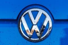 Siegen, Nordrhein-Westfalen/Deutschland - 14 11 18: VW unterzeichnen herein siegen Deutschland stockfoto