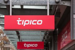 Siegen, North Rhine-Westphalia/germany - 28 10 18: tipico sign in siegen germany stock photos