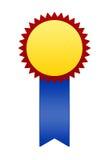 Sieger-Abzeichen oder Farbband Lizenzfreies Stockfoto