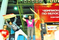 Sieger auf russischer Meisterschaft Lizenzfreie Stockfotografie