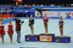 Sieger der Wettbewerbe Stockbilder