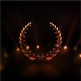 Sieger-Hintergrund Stockfoto