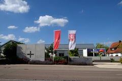 Sieger Koder Center and Biblegarden in Rosenberg, Germany.  stock photo
