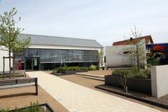Sieger Koder Center and Biblegarden in Rosenberg, Germany.  royalty free stock images
