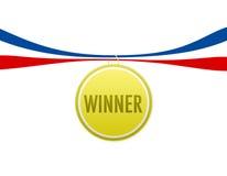Sieger-Medaille Lizenzfreies Stockbild