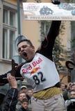 Sieger mit Preis von 1.000 Euro Lizenzfreie Stockfotografie