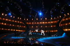 Sieger von Eurovision Dima Bilan Lizenzfreie Stockfotos