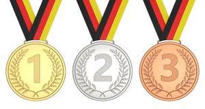 Siegermeisterschaft 1, 2, 3 Lizenzfreie Stockbilder