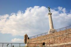 Siegersmonument auf Belgrad-Festung Lizenzfreie Stockfotografie