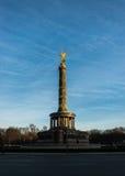 Siegessäule, Berlińska zwycięstwo kolumna Zdjęcia Royalty Free