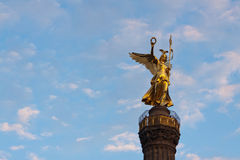 Siegessäule Berlin Abschluss oben Lizenzfreie Stockbilder