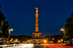 Siegessäule in Berlin Royalty Free Stock Photos