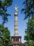 Siegessaeule de Berlim Foto de Stock