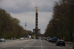 Siegessaeule (Victory Column) Stock Afbeeldingen