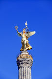 Siegessaeule victory column in berlin germany Royalty Free Stock Image